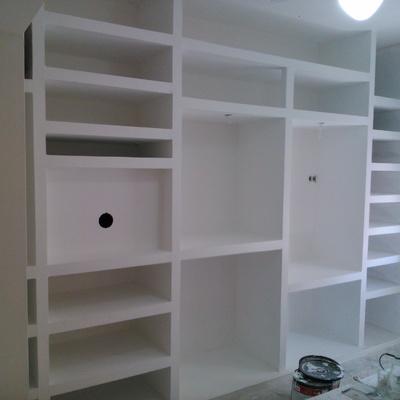 closet feitos com gesso cartonado